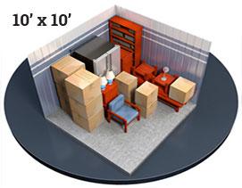10 x 10 Unit